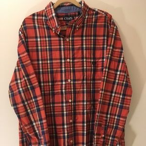 Chaps Long Sleeved Button Down